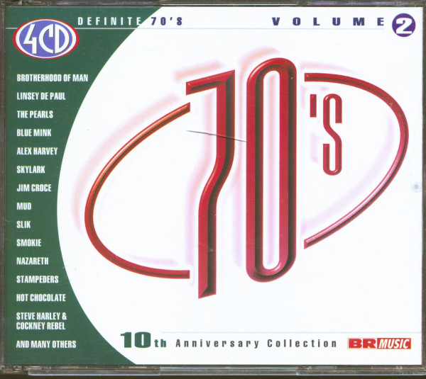 Definite 70's - 10th Anniversary Collection Vol.2 (4-CD)