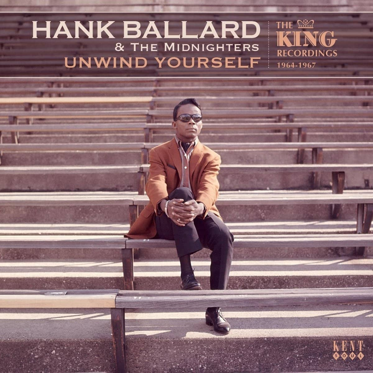 hank ballard & the midnighters cd: unwind yourself: the king