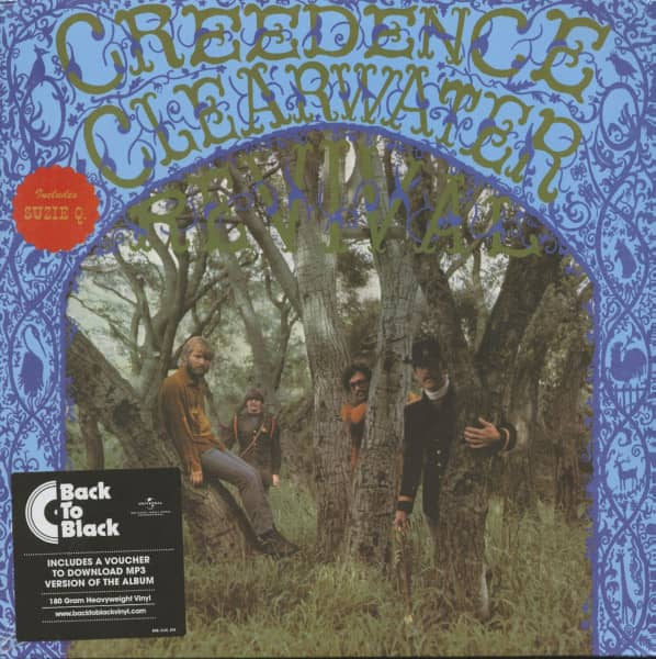 Creedence Clearwater Revival (LP, 180g Vinyl)