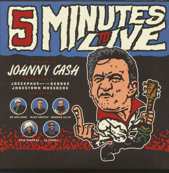 Five Minutes To Live - A Tribute To Johnny Cash EP (12inch, EP)
