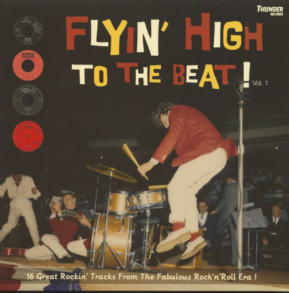 Flyin' High To The Beat (LP)