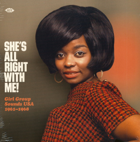 She's All Right With Me! - Girl Group Sounds USA - 1961-1968 (LP)
