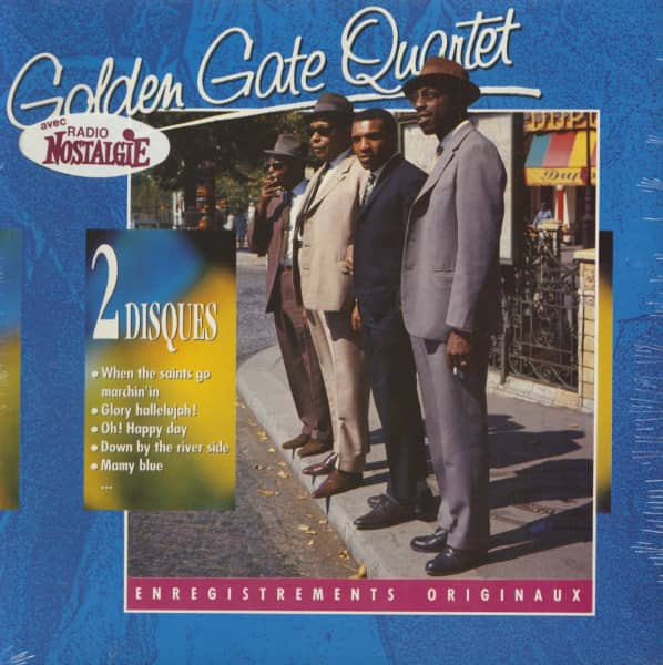 The Golden Gate Quartet (2-LP)