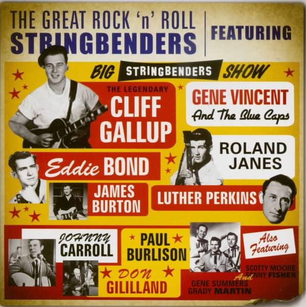 The Great Rock'n'Roll Stringbenders (CD)
