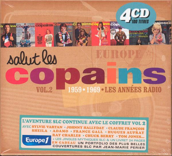 Vol.2, Salut Les Copains - 1959-69 (4-CD)