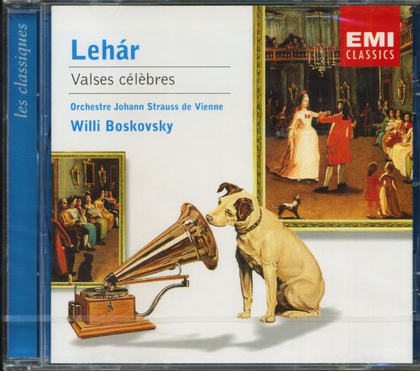 Valses Célèbres - Willi Boskovsky & Orchestra Johann Strauss Vienna(CD)