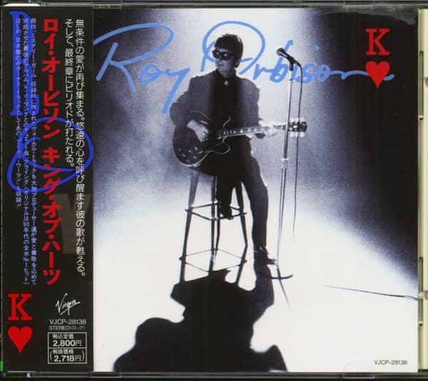 King Of Hearts (CD, Japan)