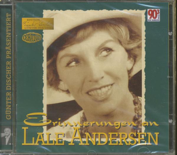 Erinnerungen an Lale Andersen - Edition Günter Discher (CD)