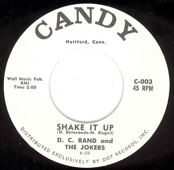 Shake It Up b-w I'm Still Thinking 7inch, 45rpm