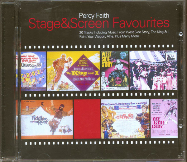 Stage & Screen Favourites (CD)