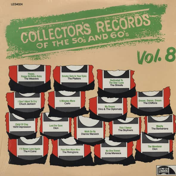 Collector's Records Of The 50s & 60s Vol.8