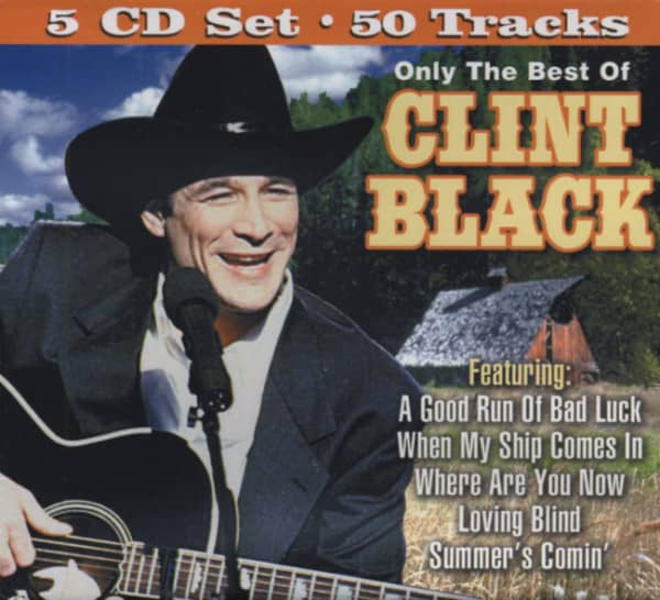 Only The Best Of Clint Black (5-CD)