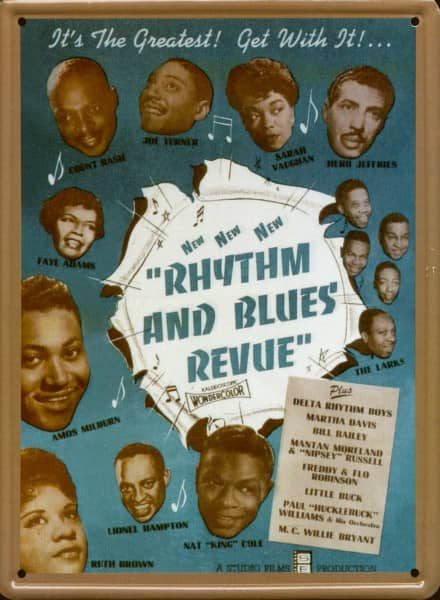 Collector Card #205 - Rhythm & Blues Revue