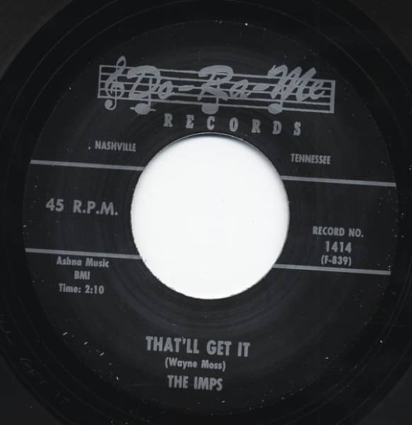 Uh-Oh - That'll Get It 7inch, 45rpm