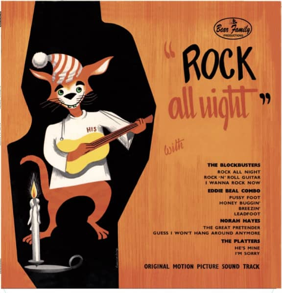 Rock All Night - Soundtrack (LP, 10inch, Ltd.)