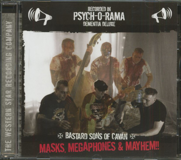 Masks, Megaphones & Mayhem! (CD)