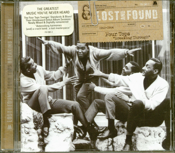 Lost And Found - Four Tops 'Breaking Through' 1963-64 (CD)
