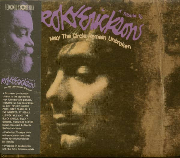 May The Circle Be Unbroken - A Tribute To Roky Erickson (CD)