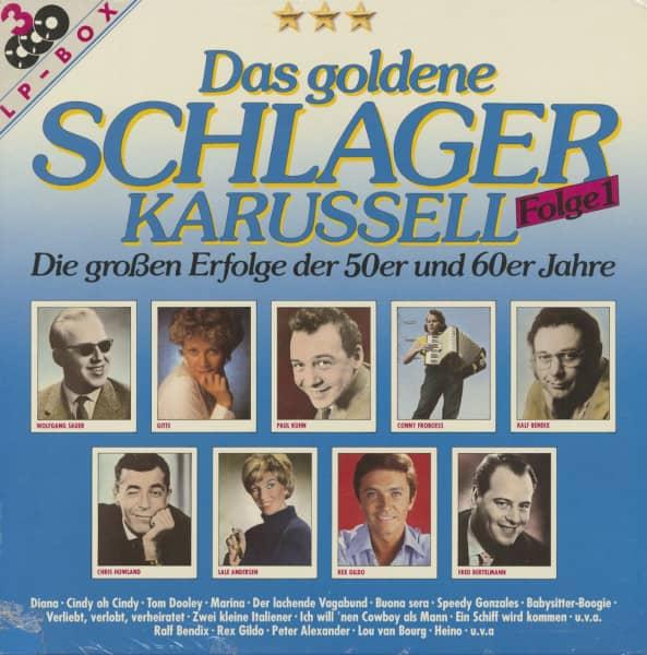 Das goldene Schlager Karussell Vol.1 (3-LP)