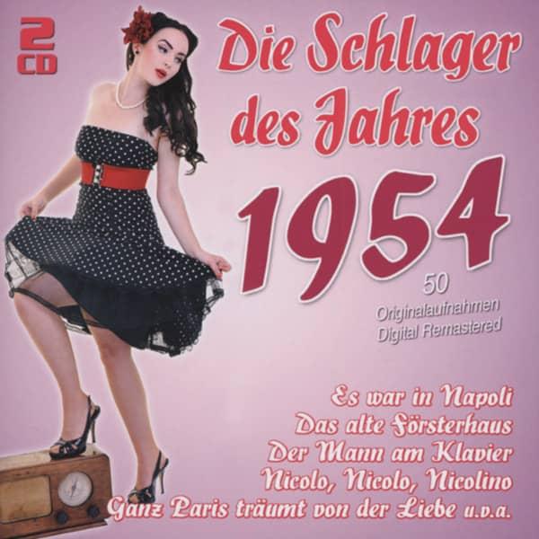 1954 - Die Schlager des Jahres (2-CD)