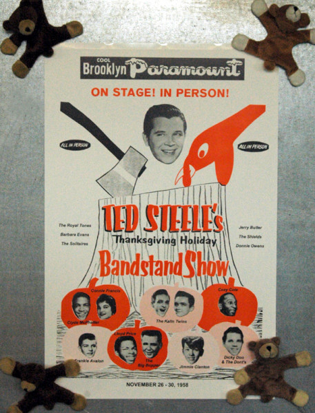 Ted Steele's Thanksgiving 1958 (28x42cm)