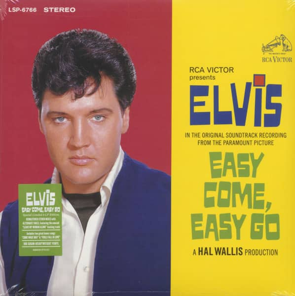 Easy Come, Easy Go (2-LP, Limited Edition)