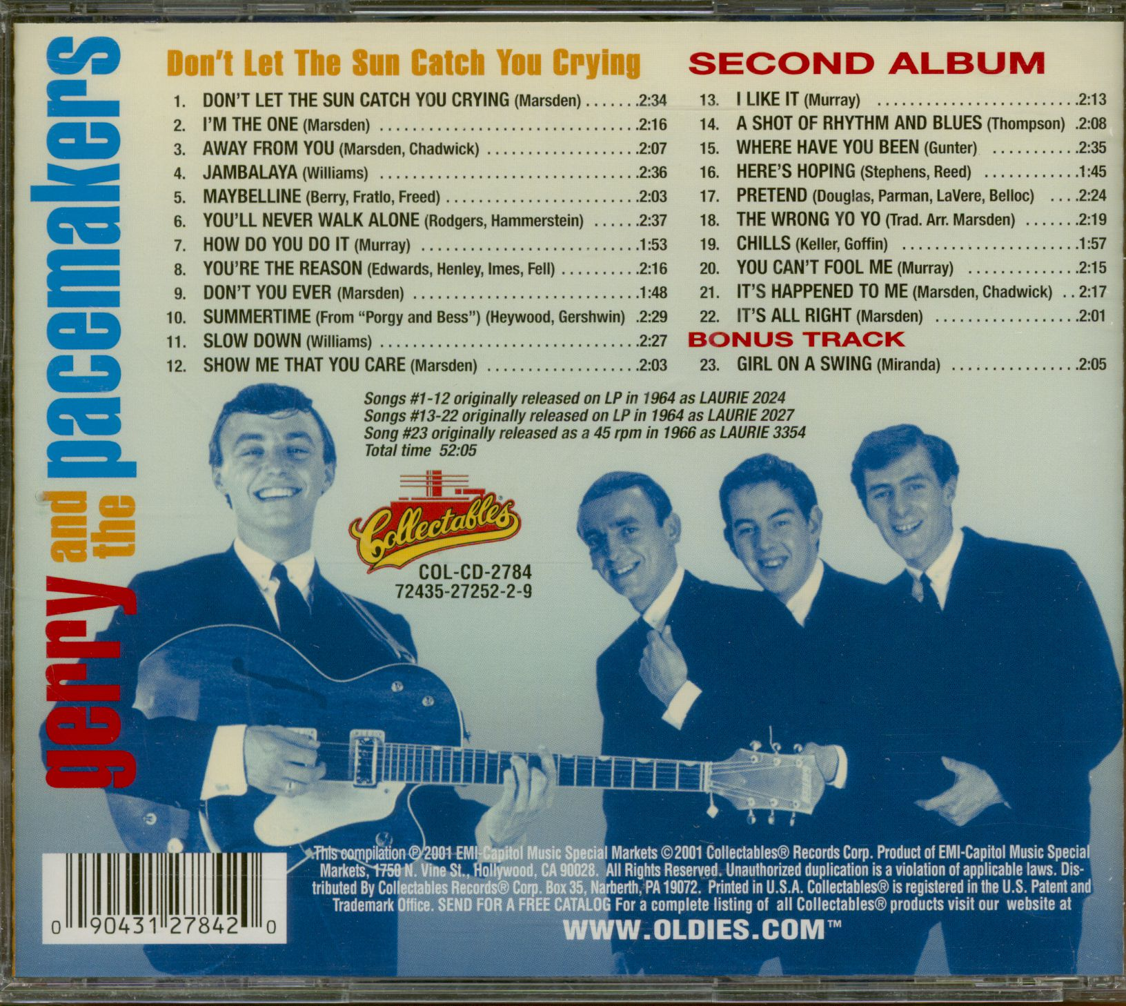 I Love Deutschland incl. Gerry /& The Pacemakers - You/'ll Never Walk Alone 2CD