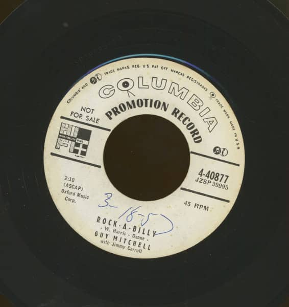 Rock-A-Billy b-w Hoot Owl (7inch, 45rpm)