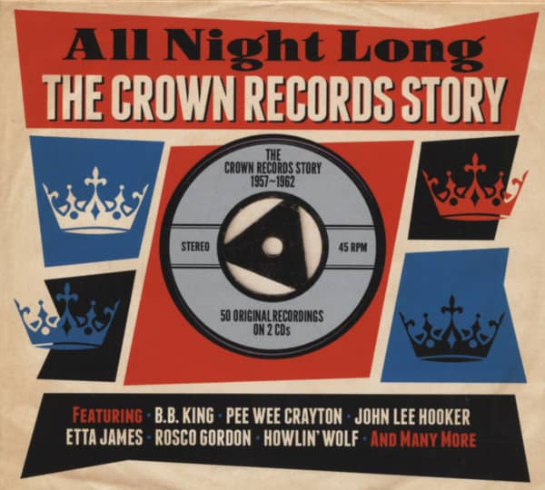 All Night Long - The Crown Records Story 2-CD