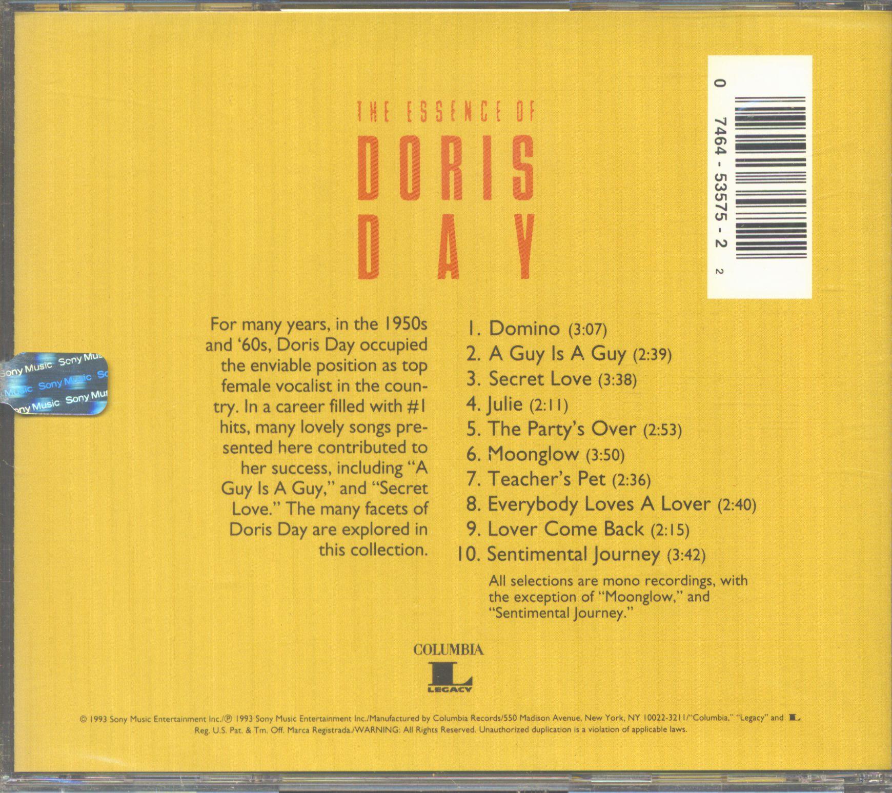 Doris Day The Essence (CD)