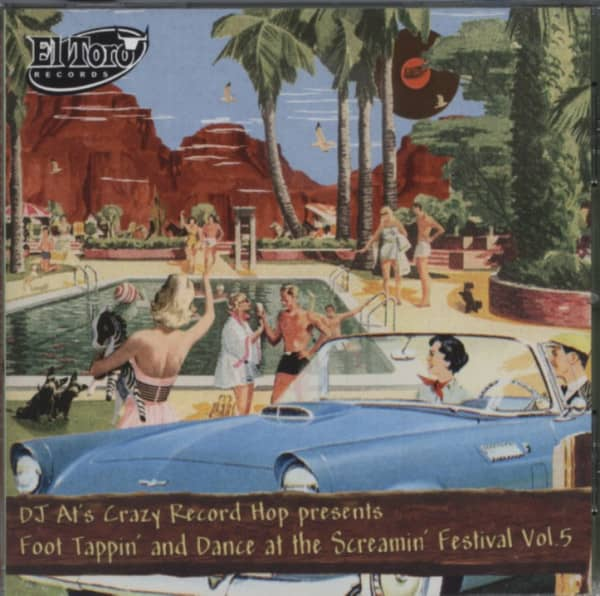 Foot Tappin' And Dance At The Screamin' Festival Vol.5 (CD)