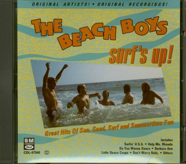 Greatest Surfing Songs (CD)