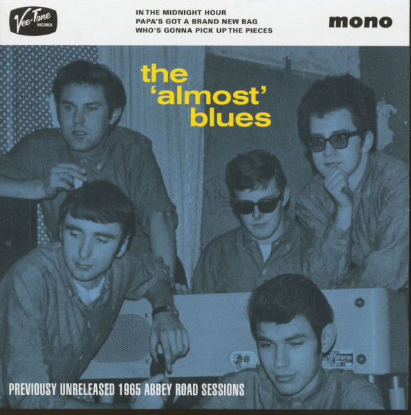 The Almost Blues (7inch, 45rpm, EP, PS, SC)
