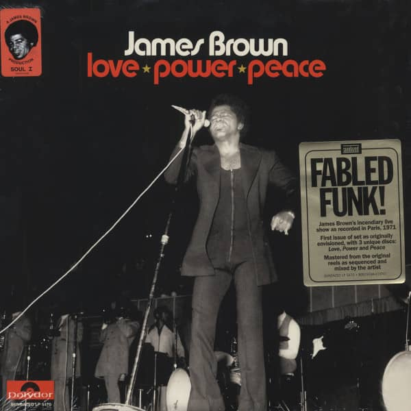 Love Power Peace (3-LP) Olympia, Paris 1971