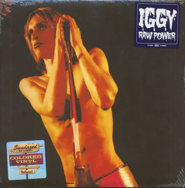 Iggy And The Stooges - Raw Power (LP, Red Vinyl)