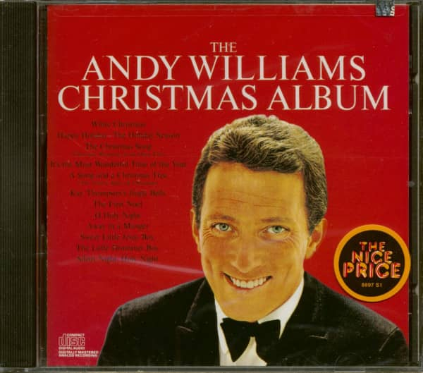 The Andy Williams Christmas Album (CD)