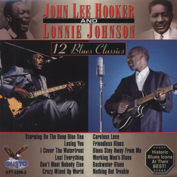 John Lee Hooker & Lonnie Johnson - 12 Blues C