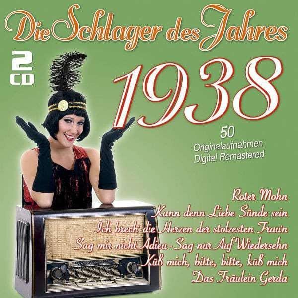 Die Schlager des Jahres 1938 (2-CD)