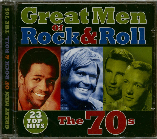 Great Men Of Rock & Roll - The 70s (CD)