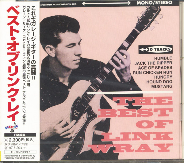 The Best Of Link Wray (CD, Japan)