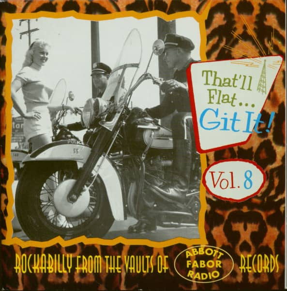 Vol.8 Rockabilly From The Vaults Of Fabor, Abbott & Radio (CD)