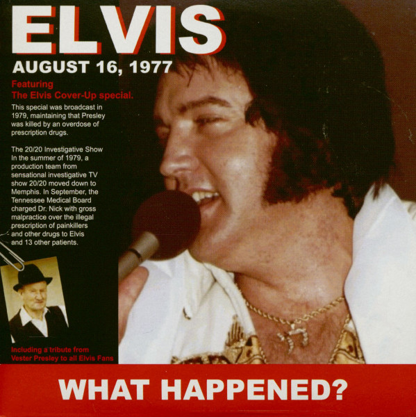 What Happened? - The Elvis Cover-Up Special (CD)