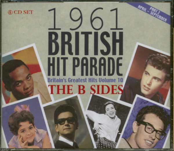 1961 British Hit Parade - The B-Sides Part 2 - Britain's Greatest Hits Vol. 10 (4-CD)