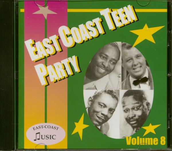 East Coast Teen Party Vol. 8 (CD)