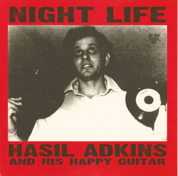 Night Life - Hasil Adkins And His Happy Guitar (LP)