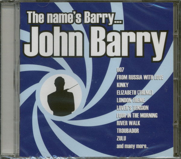 The Name's Is Barry...John Barry (CD)