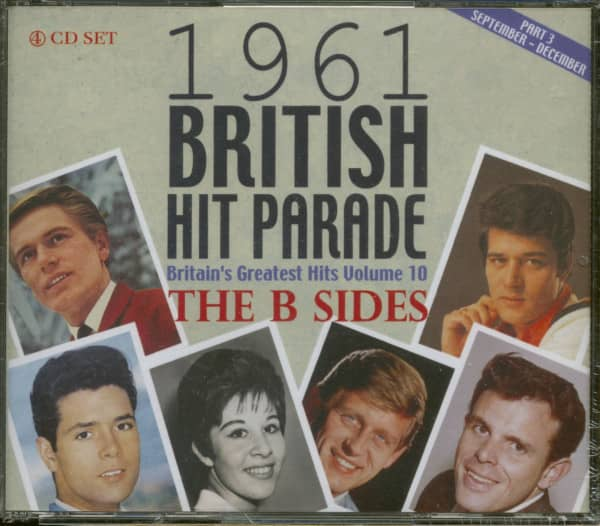 1961 British Hit Parade - Britain's Greatest Hits Vol. 10 - The B-Sides - Part 3 (4-CD)