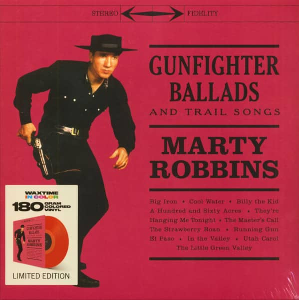 Gunfighter Ballads And Trail Songs (LP, Colored Vinyl, Ltd.)