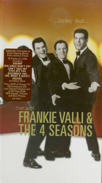 Jersey Beat: The Music Of Frankie Valli & The 4 Seasons (3-CD - 1-DVD) Deluxe Digibook