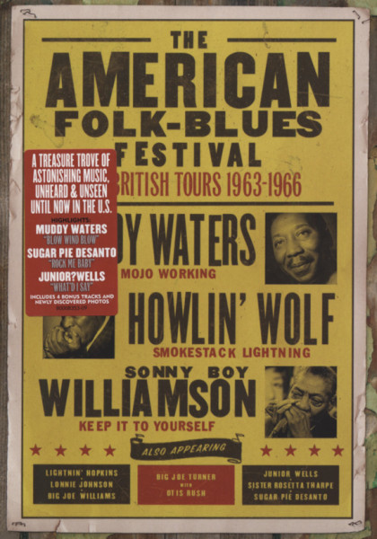 American Folk Blues Fest: British Tours